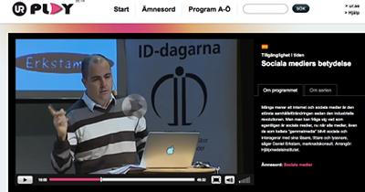 skärmdump av videon på URplay.se