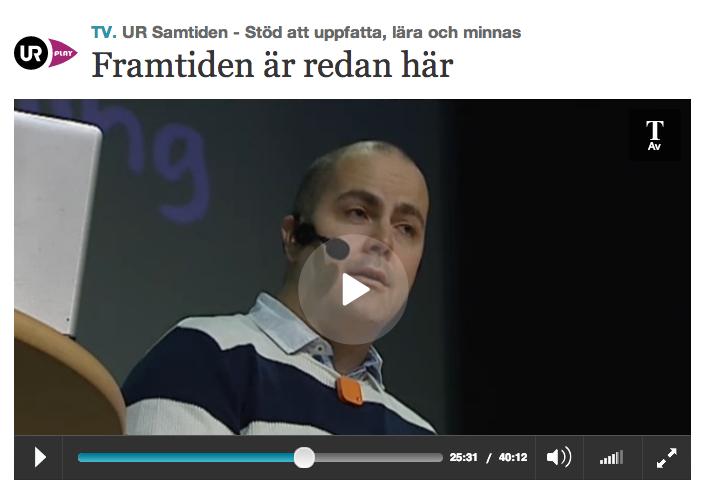 skärmdump från videon på urplay.se