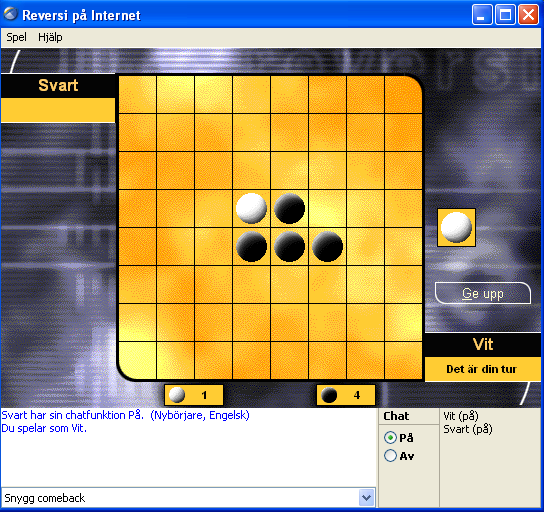 skrmdump frn Reversi p Windows XP