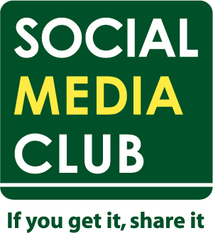 social media club logo, if you get it share it