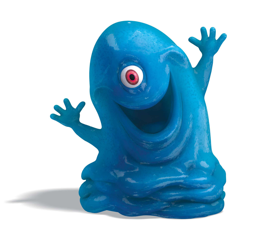 Bob the blob från filmen Monsters vs Aliens