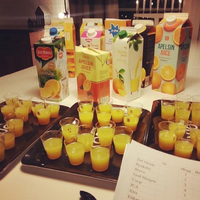 juicemuggar och juicepaket uppradade för test