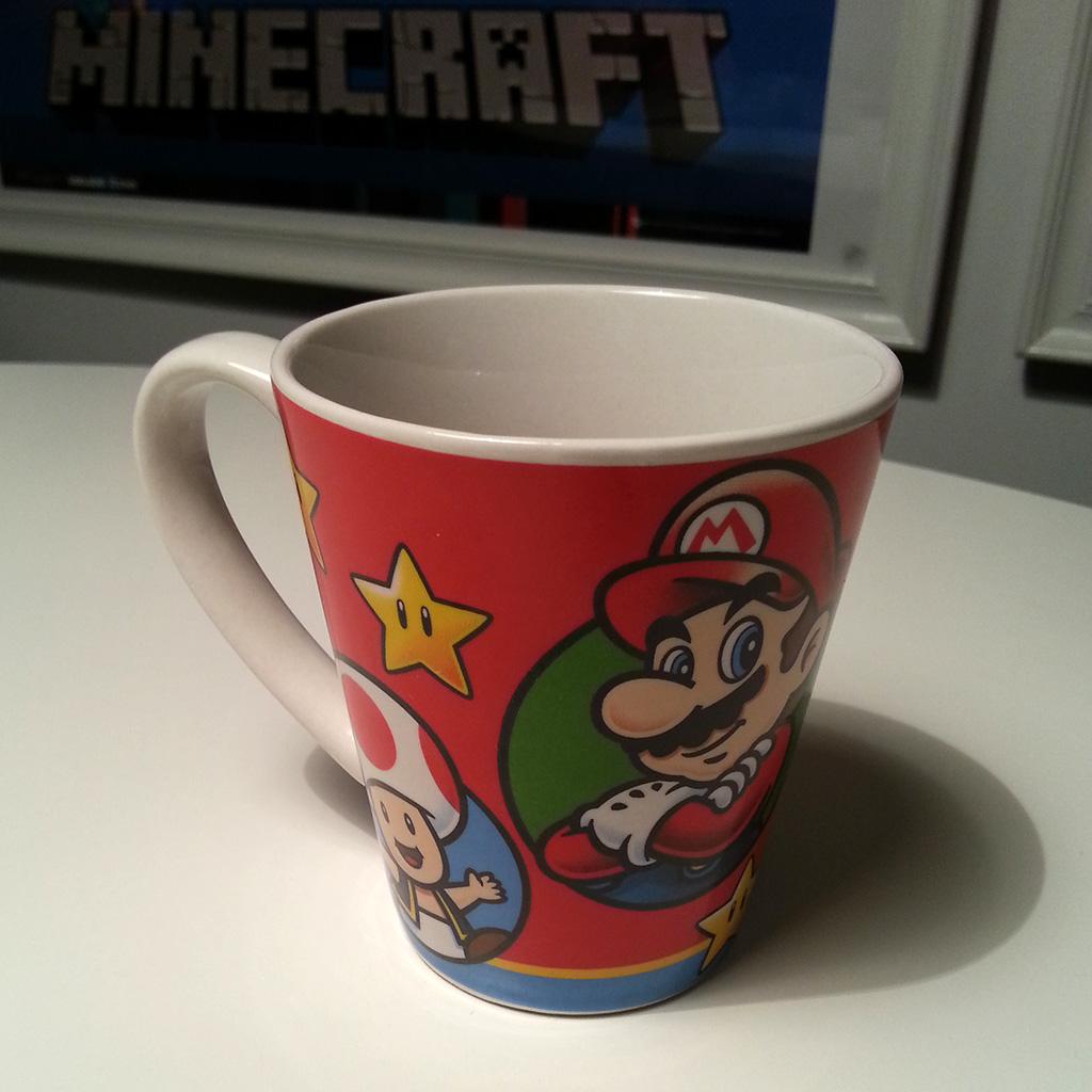 Kaffemugg med Supermario
