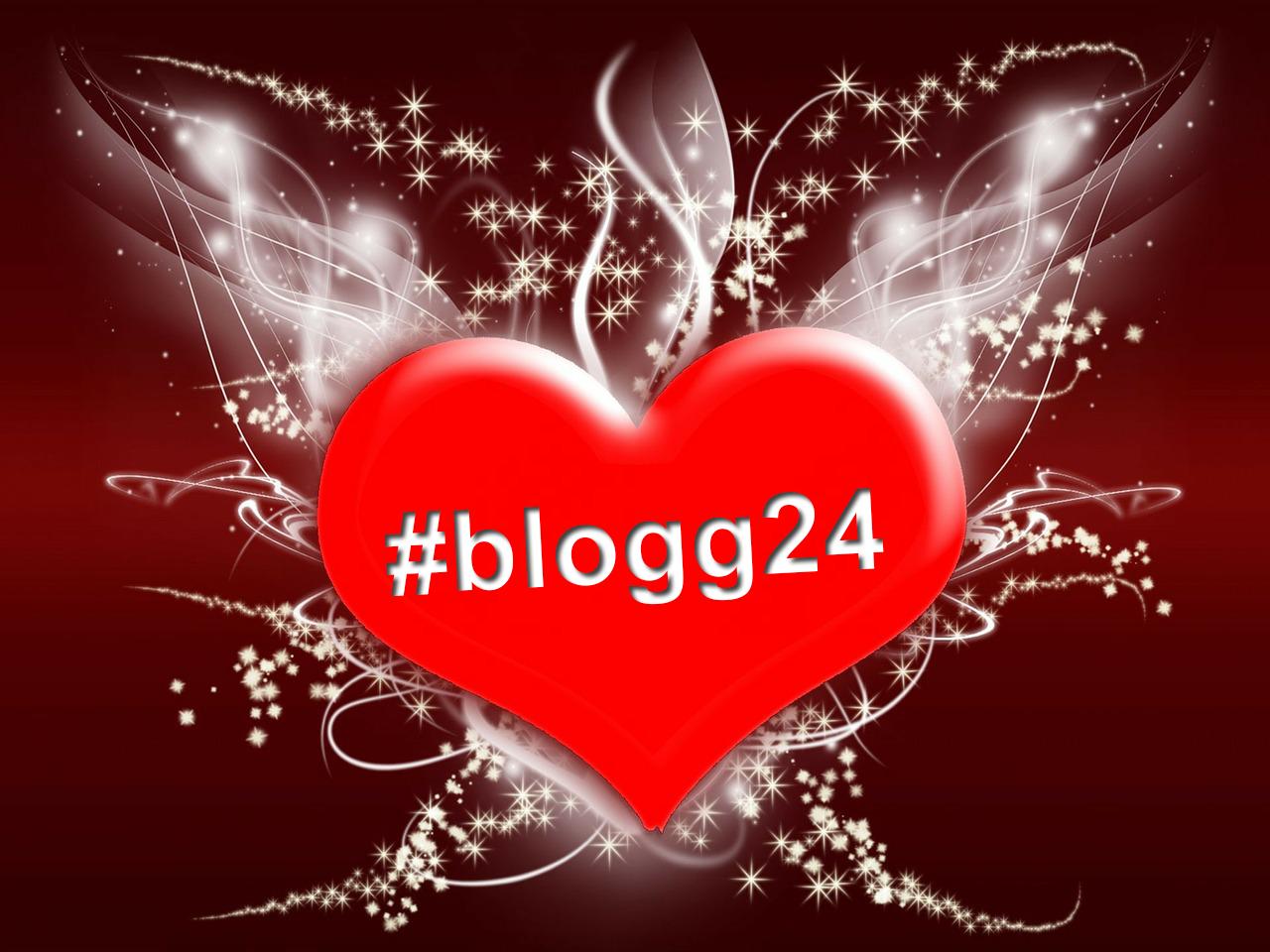 #blogg24 i ett hjärta