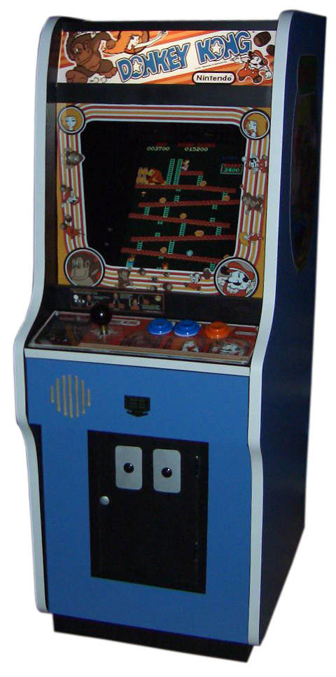 Donkey Kong Arcade machine from 1981