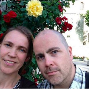 Jag och Merja i Istanbul. Maj 2014.