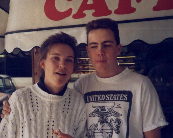 Daniel och Merja 1990