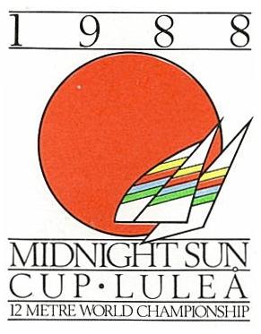 Poster för Midnight sun cup Luleå 1988