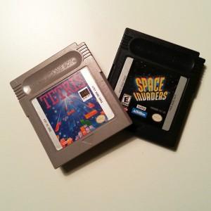 Gameboyspel, Tetris och Space Invaders